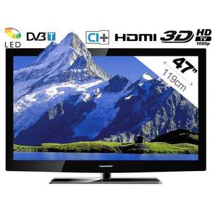 TV Blaupunkt - BW47B187 LED 47'' 3D - 100 Hz - 3 HDMI