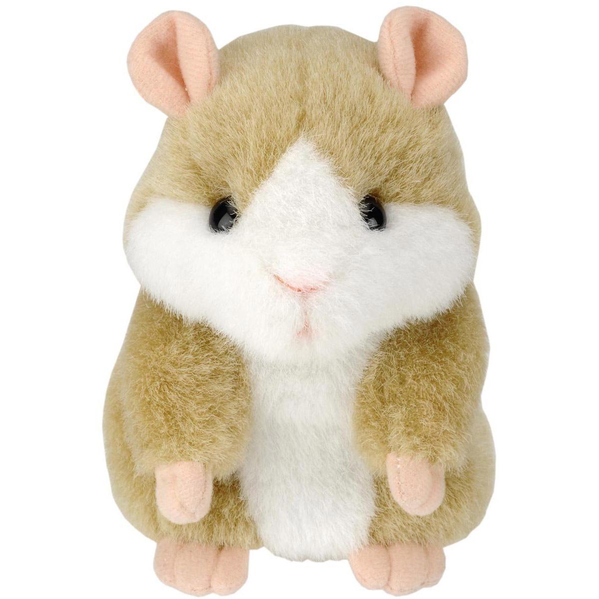 Jouet Hamster parlant (répète ce que vous dites)