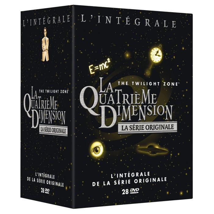 La Quatrième dimension (La série originale) - L'intégrale en DVD à 39.99€ via Buyster, sinon