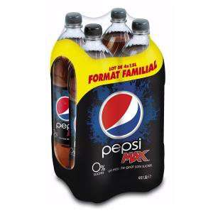 8 Packs Pepsi Max 4x1.5L livrés en point relais
