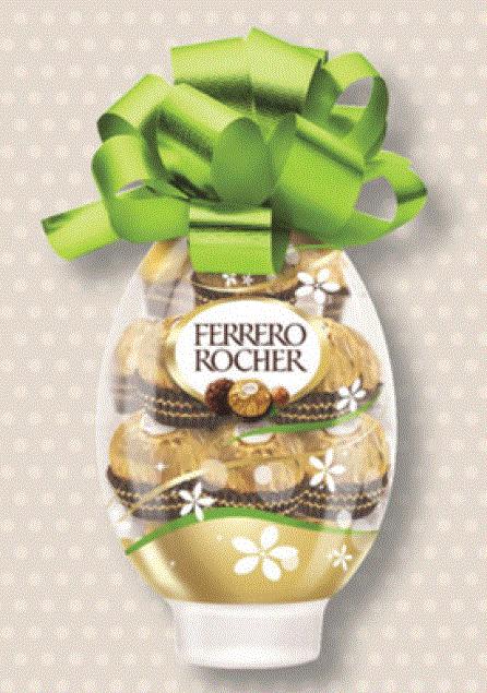 3 oeufs Ferrerro Rocher (soit 48 Ferrero Rocher)