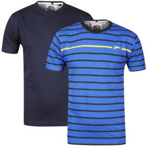 Lot de 2 T-shirts Slazenger ( S à XXL )