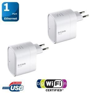 Pack 2 répéteurs WiFi multimédia D-Link DIR-505