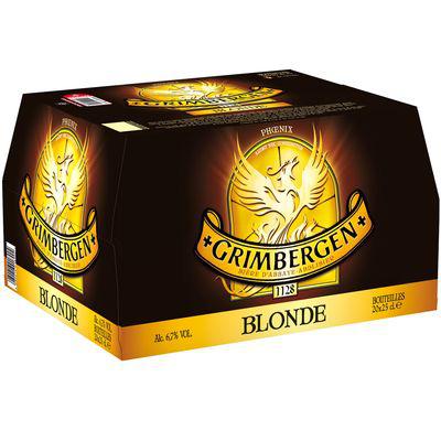 2 packs de bière Grimbergen (20x25cl)
