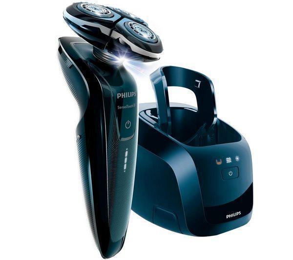 Rasoir électrique Philips RQ1250/22 SensoTouch 3D avec Tondeuse de précision et Jet Clean System