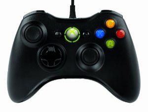 Manette Microsoft filaire pour PC et Xbox 360 (avec ODR 10€)