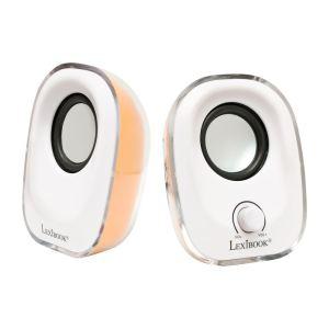 Enceintes Lexibook USB Speakers 2.5W x 2 / livraison gratuite