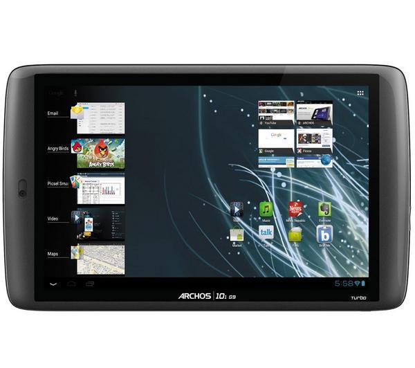 """Tablette 10.1"""" Archos 101 G9 Turbo - Dual Core,  250 Go"""