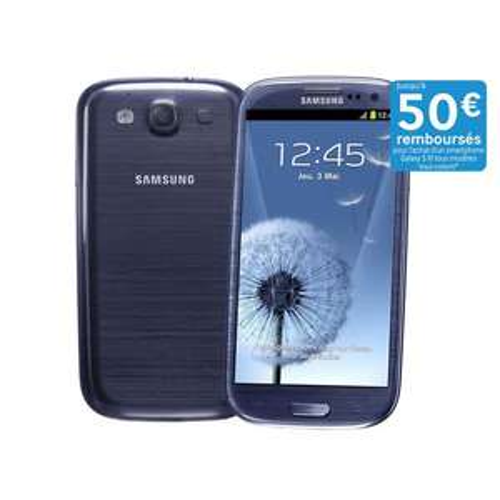 Smartphone Samsung Galaxy S3 16Go 3G - Bleu (Avec ODR 50€)