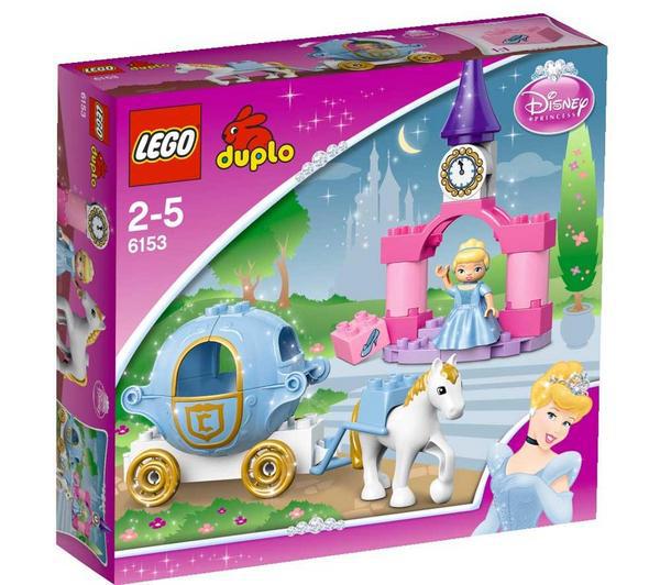 Lego Duplo Disney Princess Le carrosse de cendrillon