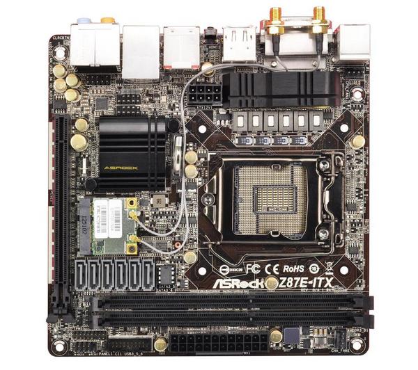 Carte Mère Mini ITX : ASRock Z87E-ITX