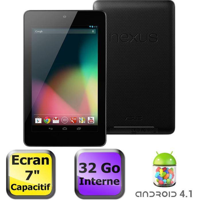 """Tablette Asus Nexus 7"""" 32Go Reconditionnée (2012)"""