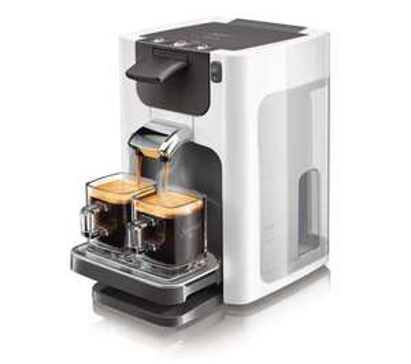 cafetière Senseo Quadrante HD7864/11 blanc (avec ODR 10€)