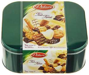 Assortiments Biscuits Delacre Tea Time  1Kg ( 3,30€ sur carte fidelité)