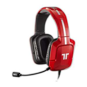 Casque-micro gaming/cinéma avec micro détachable Tritton AX 720 PLUS Rouge (Dolby Surround 7.1) à 54,99€ (inscription à la newsletter) ou