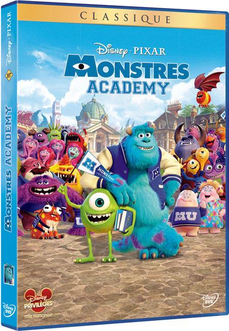 Blu-ray Monstres Academy