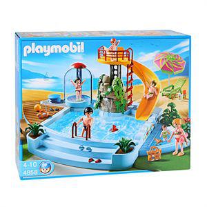 Playmobil 4858 - Piscine et toboggan