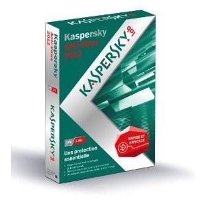 Kaspersky Antivirus 2012 3 postes/1 an