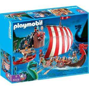 Playmobil 5003 - Drakkar et Camp des Vikings