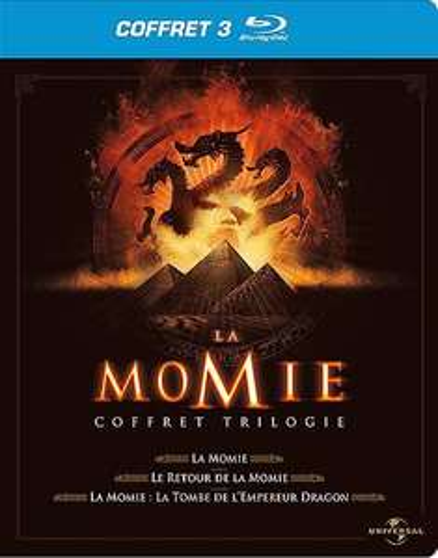 3 * Trilogie La Momie Blu Ray - 9 Blu Ray (7€ frais de port)