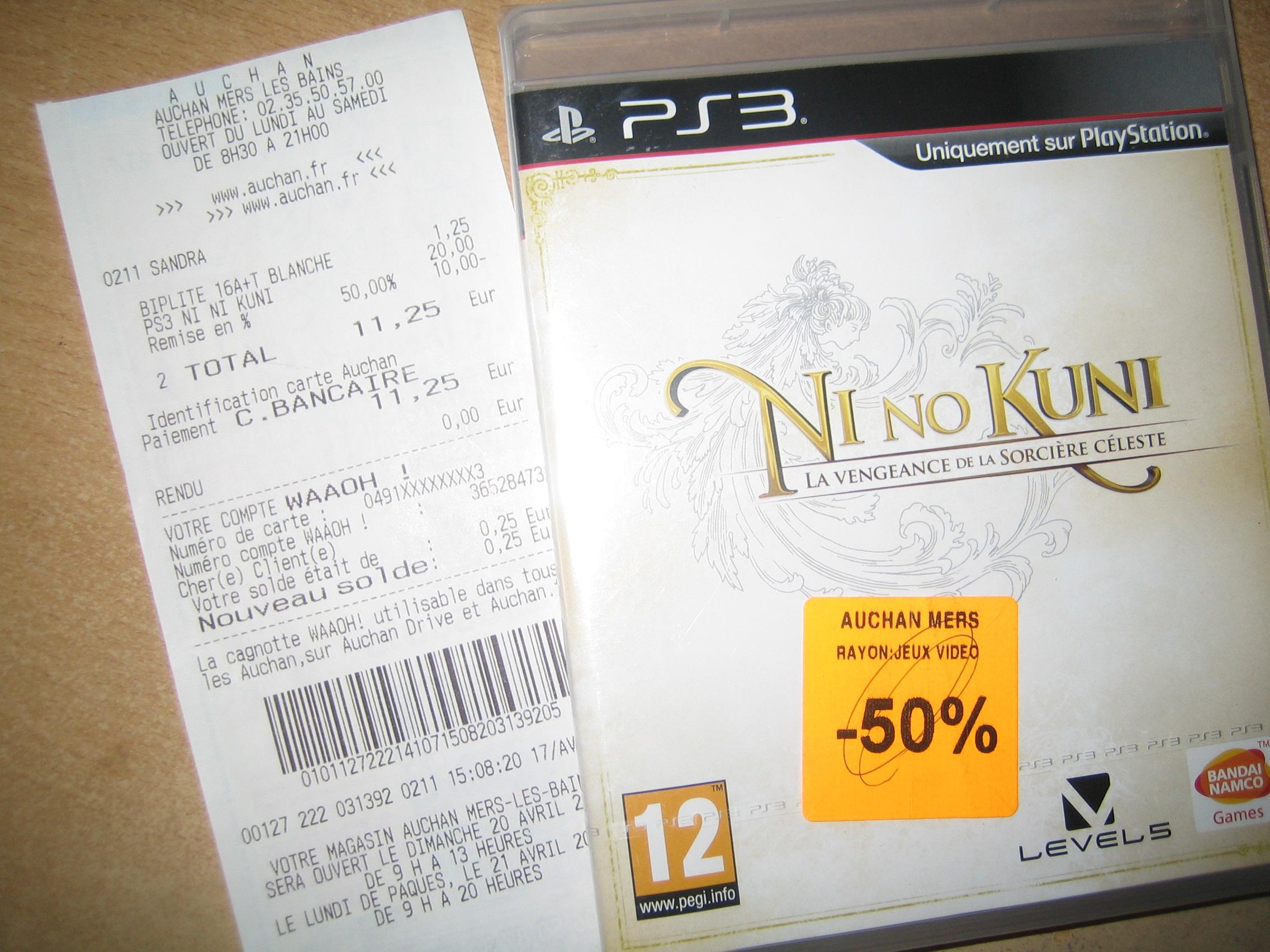 Ni no Kuni : La vengeance de la Sorcière céleste sur PS3 (autres jeux voir description)