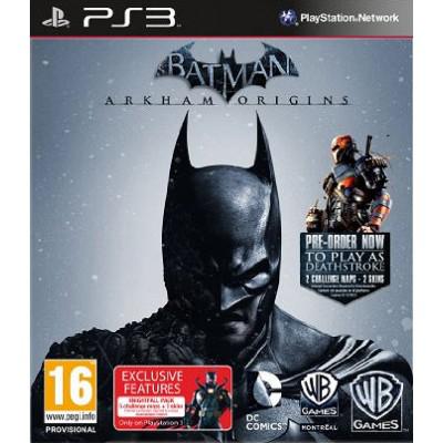 Jeu PS3 Batman Arkham Origins