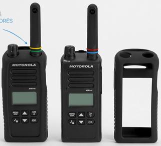 Pack de 2 Talkies-walkies Motorola XTK446 avec housses