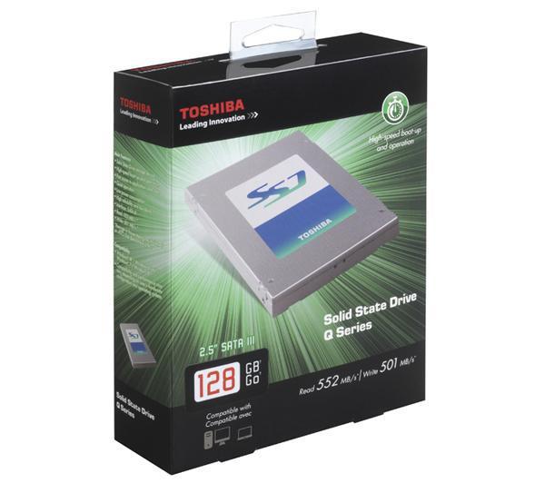 "SSD interne 2.5"" Toshiba Q Series 128go"