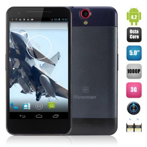"Smartphone 5"" Newman K18: MTK6592 Octa-core 1.7GHz, 2 Go RAM, 16 Go, 1080P"