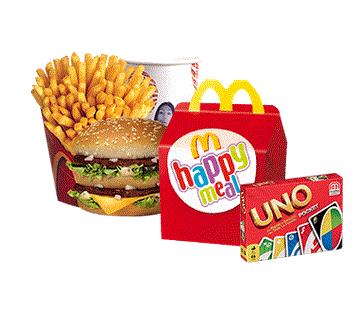 Un jeu de société offert pour l'achat d'un Menu (Maxi) Best Of™ et d'un Happy Meal™