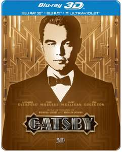 Bluray Gatsby Steelbook 3D