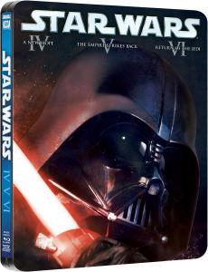 Bluray Star Wars Trilogy (4-5-6) - Edition Limiteé Steelbook