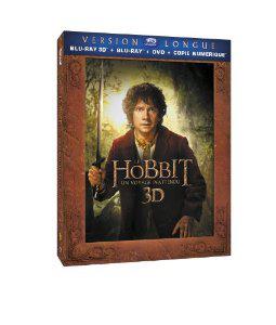 Le Hobbit : Un voyage inattendu - Version longue - Edition 2 Blu-ray 3D + 3 Blu-ray + 2 DVD