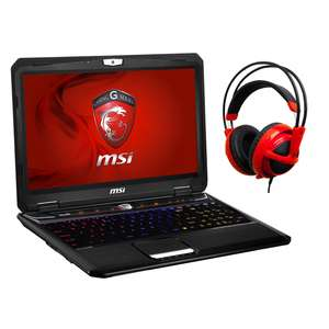 PC portable 15,6'' MSI GT60 2OC-407XFR + Casque Siberia V2 Rouge + 1 an d'extension de garantie