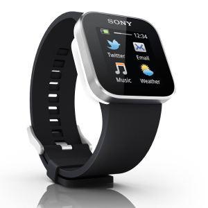Montre connectée Sony Smartwatch - Noir