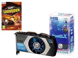 HIS Radeon HD7850 IceQ X Turbo - 2048 Mo + DIRT SHOWDOWN PC