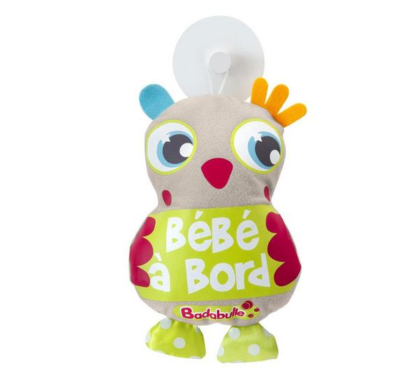 Bébé à Bord Peluche Hibou Badabulle - B045904