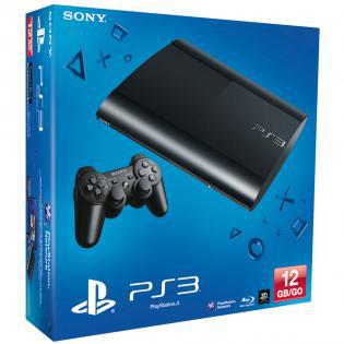 Console PS3 Ultra Slim 12Go - Noir