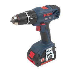 Perceuse Bosch GSB 18-2-LI avec coffret, 2 batteries 3Ah Li-Ion et chargeur