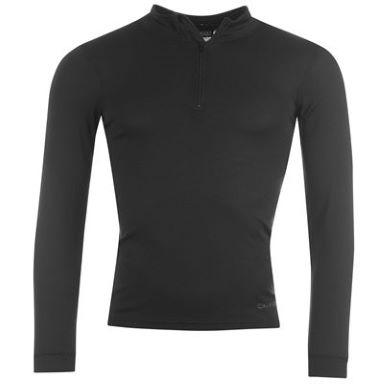 T-shirt thermique manche longue zippé Campri