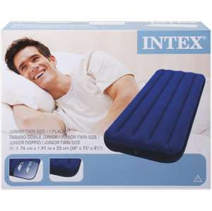 Matelas gonflable Intex 2 places à 9.95€ et 1 place