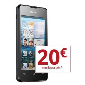 "Smartphone 4"" Huawei Ascend Y300 (avec ODR de 20€)"