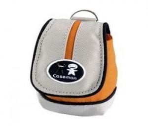 CASEMAN Sac DF10 - orange & gris
