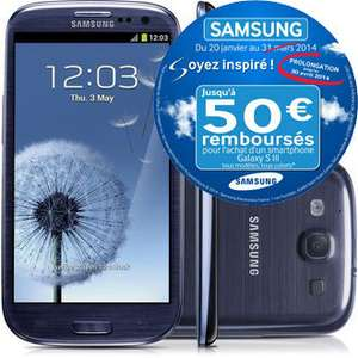 Smartphone Samsung Galaxy S3 3G (ODR 50€)