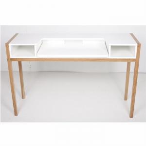 Bureau Farringdton chêne/blanc