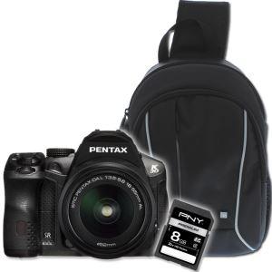Reflex Pentax K30 18-55mm + Sac à dos + Carte SD 8Go