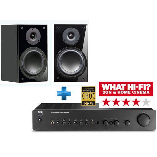 Ampli NAD 316BEE + paire d'enceinte Advance Acoustic Kubik K1