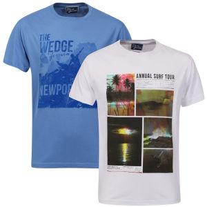 2 t-shirts Pure Juice (Taille M uniquement)