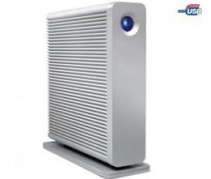 LaCie Disque dur externe d2 Quadra Hard Disk - 3 To de LaCie FireWire 400, FireWire 800, USB 2.0, eSATA