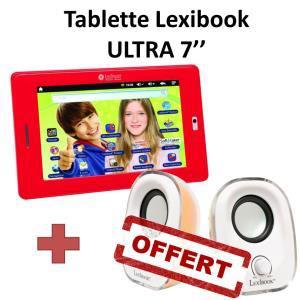 "Tablette enfant 7"" Lexibook Ultra + Enceintes USB 2.5W"